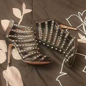 Dolce Vita black studded heels